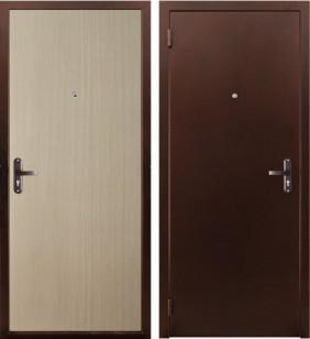 Дверь «Стройка» (гладкая панель) - ДорОптКомплект